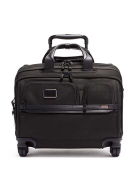 Deluxe 4 Wheeled Laptop Case Brief Alpha 3