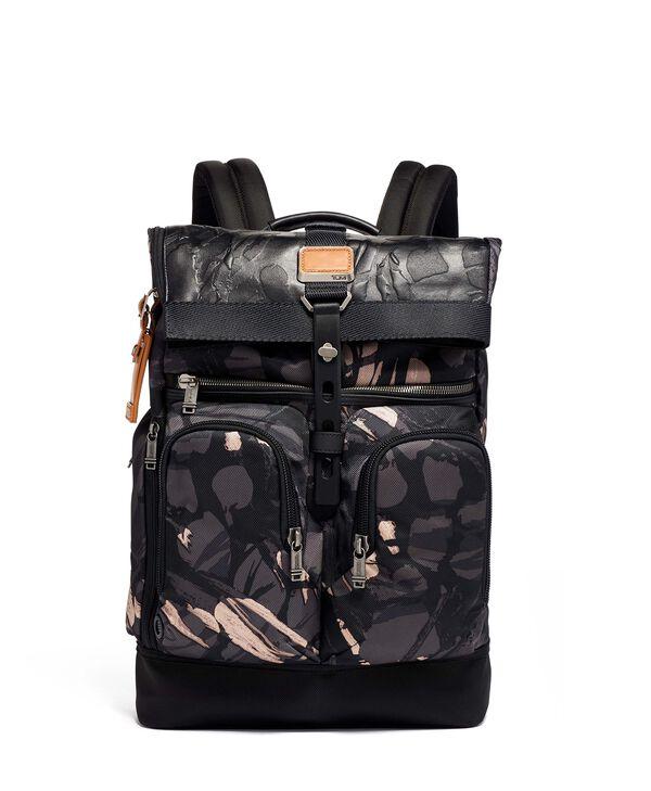 Alpha Bravo London Roll Top Backpack