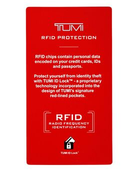 TUMI ID Lock™ Porte-cartes avec clip pour billets de banque Monaco