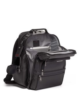 Sac à dos en cuir TUMI T-Pass® Business Class Brief Pack® Alpha 3