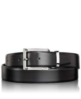 Polished Etched Buckle Reversible Belt Belts