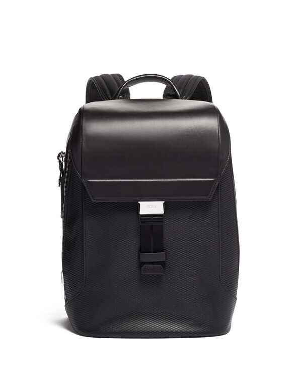Ashton Dolton Flap Backpack Leather