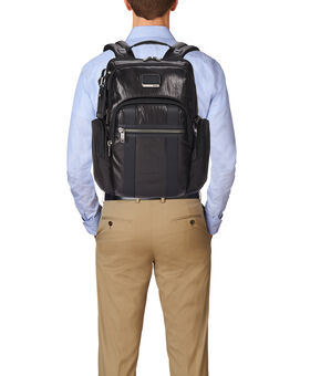 Nellis Leather Backpack Alpha Bravo