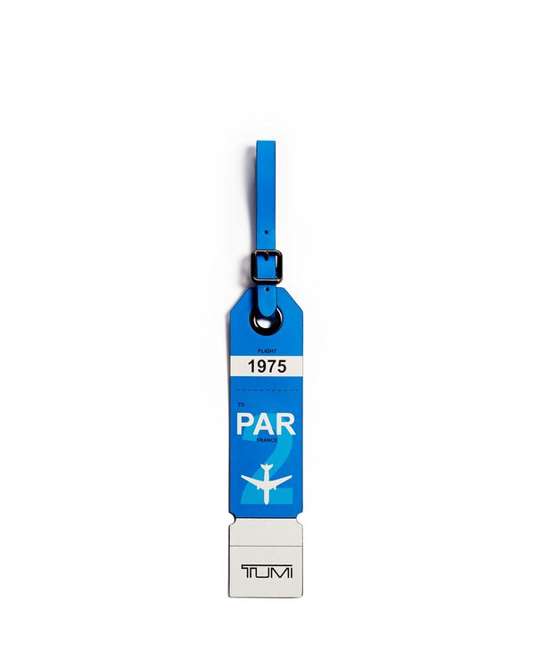 Travel Accessory Paris Luggage Tag