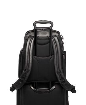 Sac à dos compact en cuir Brief Pack® pour ordinateur Alpha 3
